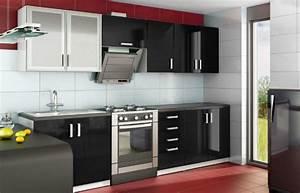 Cuisine Complète Pas Cher : cuisine equipee laquee pas cher meuble angle cuisine pas ~ Melissatoandfro.com Idées de Décoration