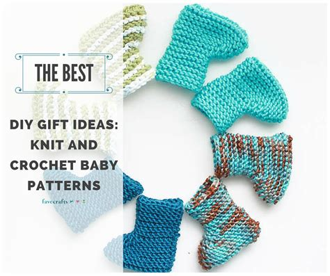 The Best Diy Gift Ideas Knit And Crochet Baby Patterns