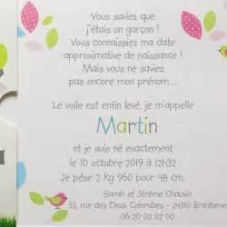 texte pour fã licitation mariage modele texte faire part naissance original