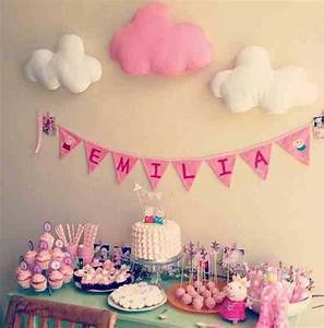 Peppa pig birthday party candy bar Pinterest Pig