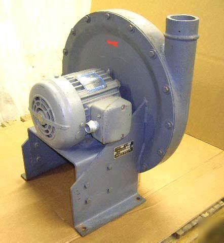 buffalo forge dust collector blower