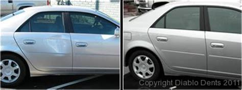 How To Fix Dent In Car Door by Before And After Paintless Dent Repair Photos Diablo