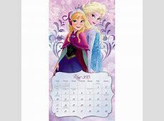 Frozen Calendar Print Out Calendar Template 2018