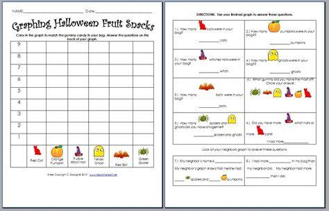 Worksheet Halloween Graphing Activity Worksheet Fun Worksheet Study Site