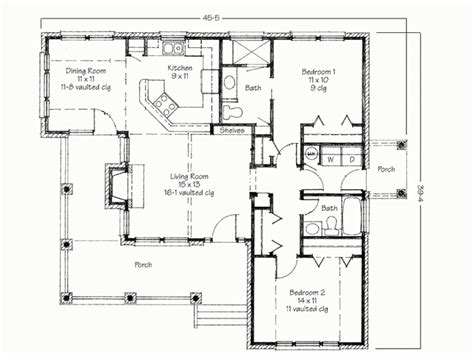two bedroom home two bedroom house simple floor plans house plans 2 bedroom