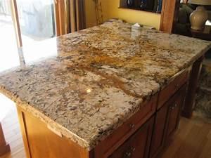 Elegant Granite Countertop Edge Styles With Straight Edge