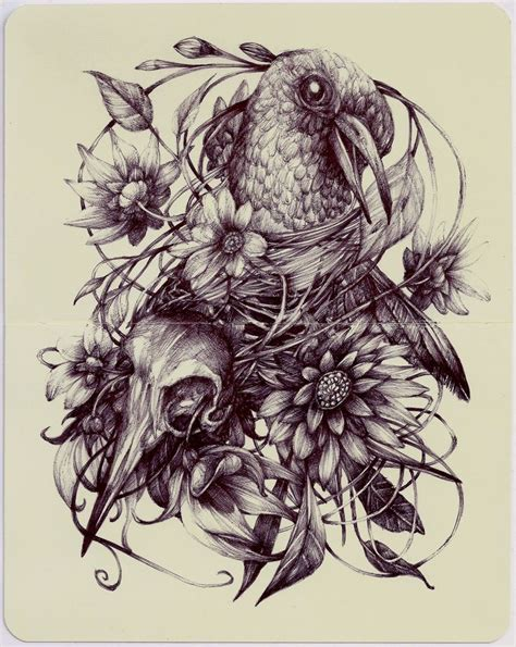 Marco Mazzoni Ink Drawing The Whimsical Pen