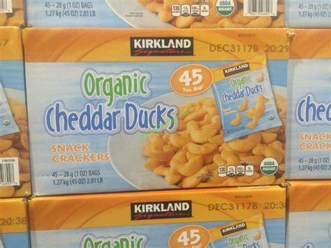 Organic Ducks Snack 30g kirkland signature organic duck crackers 45 count box