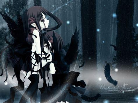 Evil Anime Wallpaper - wood forests demons yuri anime