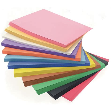 Construction Paper Block  Atoz Supplies