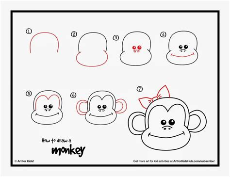 monkey directed draw   cute   chinese
