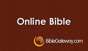Links - Cadoxto... Bible Gateway