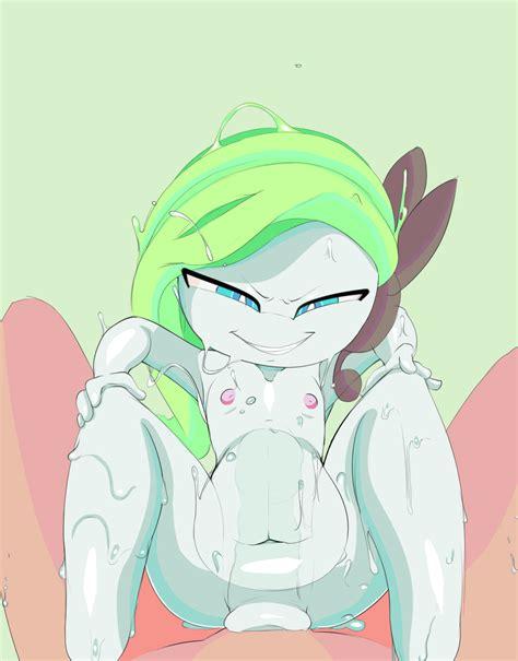 rule 34 animated blue eyes breasts cowgirl position green hair jontxu meloetta nintendo