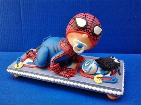 Baby Spiderman For Babyshower  Gordo Bday Pinterest