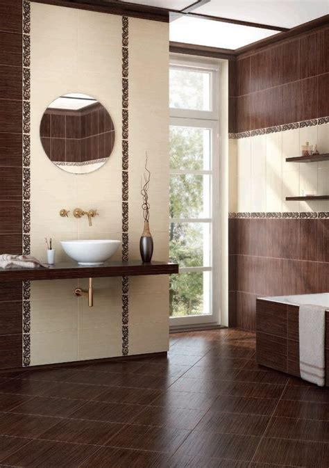 carrelage salle de bain marron les 25 meilleures id 233 es de la cat 233 gorie salle de bain marron sur couleurs de salle