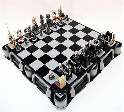 Chess Lego Star Wars Sets Nerdy Similar