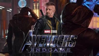 Endgame Ronin Avengers Hawkeye Marvel Costume Title