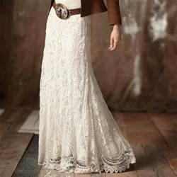 denim and lace wedding dress this western lace maxi skirt gorgeous lace maxi skirt wide western belt denim