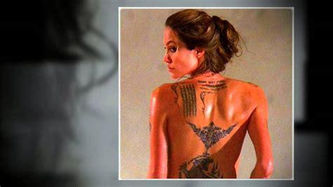 tatouage angelina jolie signification