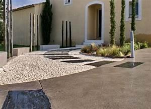 devant de maison paysager interesting exemple paysager With nice amenagement exterieur jardin moderne 1 amnager entre extrieure maison cool amnagement entre