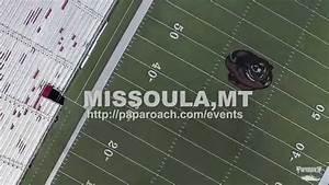 Papa Roach drone footage in Missoula Montana at Adams ...
