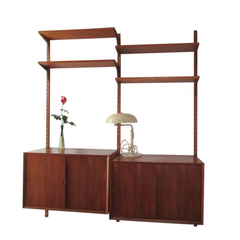 royal system wall unit by poul cadovius for royal system cado system wall unit by poul cadovius for cado 1960s