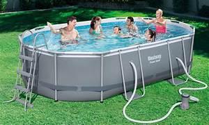 Piscine Tubulaire Oogarden : piscine tubulaire ovale x x m oogarden ~ Premium-room.com Idées de Décoration