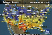 10 Day Forecast Weather Map - weather.com (com imagens)