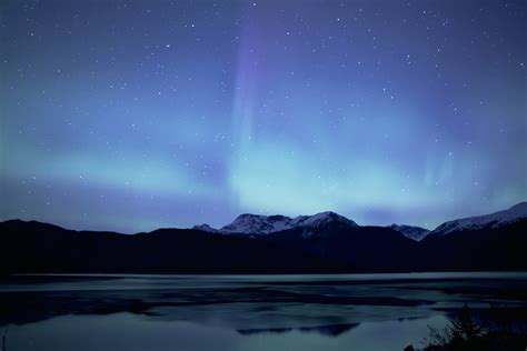 lights in alaska here are the best places to see the northern lights in