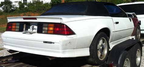 kentucky parting  wrecked  camaro convertible