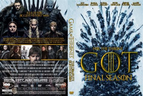 game  thrones season  dvd cover  cover