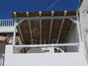 Pergola Avec Canisse : couverture pergola canisse brise vue balcon sur mesure exoteck ~ Melissatoandfro.com Idées de Décoration
