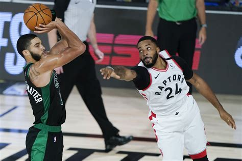 Celtics roll past Raptors 112-94, take 1-0 East semis lead ...
