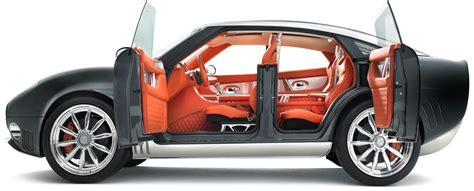 It also has a pair of magnificent butterfly doors. Car Door Types - Sliding Butterfly that Commits Suicide with Scissors - autoevolution
