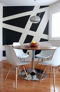 Wand Schwarz Streichen : wand streichen ideen kreative wandgestaltung freshouse ~ Fotosdekora.club Haus und Dekorationen