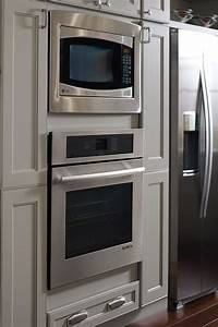 Wall Built-in Microwave Cabinet
