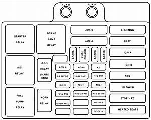 2000 Chevy Silverado Fuse Box Diagram