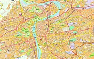 Prague On Map Of World