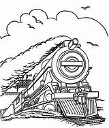 Train Steam Coloring Pages Engine Locomotive Trains Speed Run Drawing Outline Line Colouring Printable Getdrawings Netart Getcolorings Print Clrg sketch template