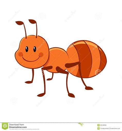 Ant Clipart Ant Mascot Stock Photo Image 28155240 Ant And