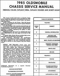 Stereo Wiring Diagram For A 1986 Oldsmobile Cutlass Ciera