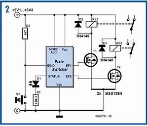Zigbee Switching For Remote Control Schematic Circuit Diagram