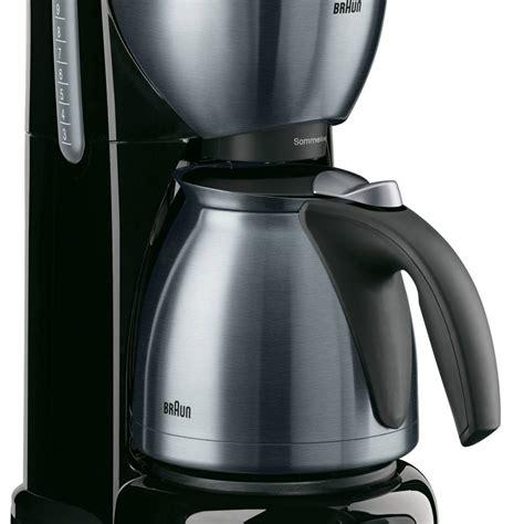 Kaffeemaschine Braun by Braun Sommelier Kf610 Kaffeemaschine Mit Optibrewsystem