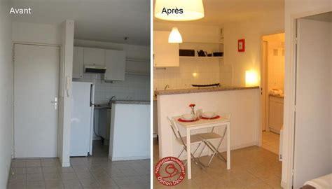 cuisine sur plan logement vide cuisine avant après photo de home staging