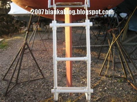 Boat Ladder Extension by The Bianka Log Boarding Ladder Extension