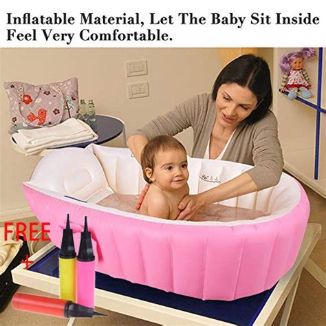 inflatable baby bath tubpink shopee philippines