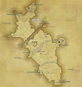 Middle La Noscea Maps FFXIV A Realm Reborn Info FF14