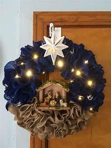 Nativity Wreath