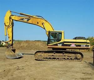 Caterpillar 330b L Excavator Electrical System Schematic