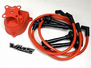 Distributor Cap  U0026 Spark Plug Wire Kit For 92